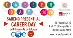 CSE sarà presente al Career Day 2020